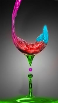 Neon Wine by luismi812