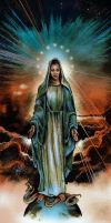 Immaculate Heart of Mary by Fusciart
