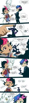 YGO : When Vrains meets Zexal by DarkHalo4321