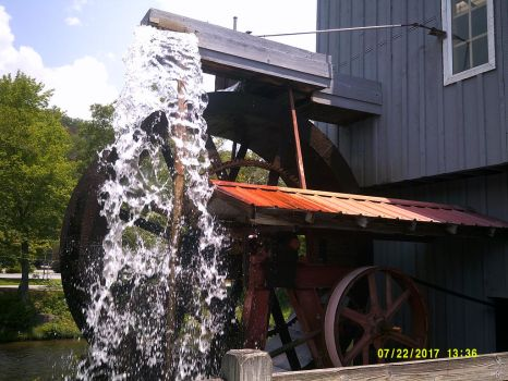 Saunooke's Mill/Shop in Cherokee, North Carolina by The-White-Tigress