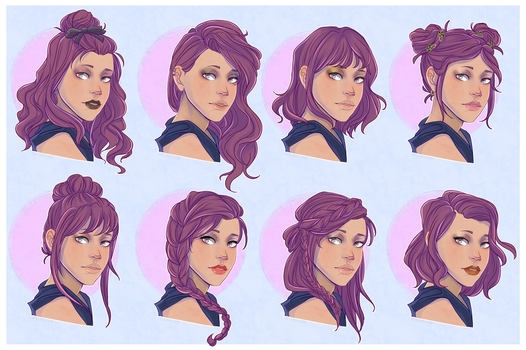 C: Minah Hair Reference by Decora-Chan