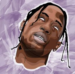 Travis Scott by Dumpstaz
