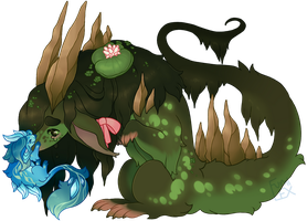 [Aetherlings] Crystal and Marsh by Fumi-LEX