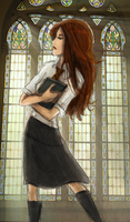 Lily Evans by HILLYMINNE