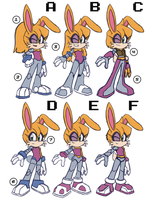 Bunnie Rabbot reboot sketches by RyanJampole