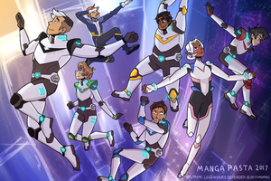 Voltron Group by manga-pasta