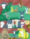 Outsiders page 4 by AllforCartoons
