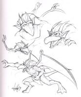 Gargoyles - Brooklyn by Marker-Mistress