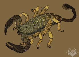 DarkClaws Scorpion (HADO) by scorpenomorph