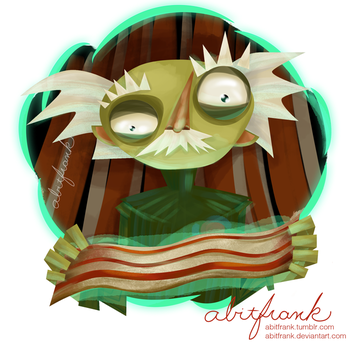 Psychonauts: Ford Cruller by abitfrank
