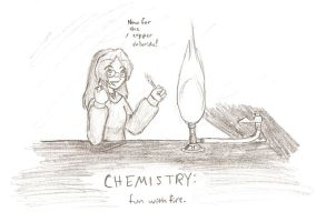 Chemistry: Fun with Fire by isjusterin