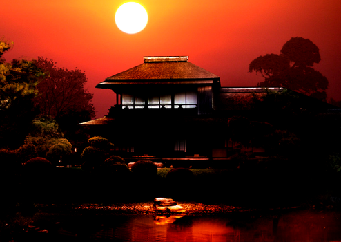 Sunset in Japan I by Kyrarah