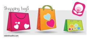 Shopping Bags Dock icons by Valen23901
