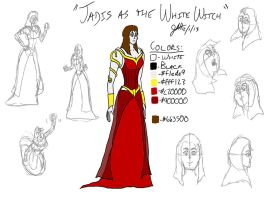 Jadis as the White Witch by GeebMachine