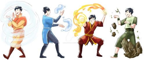 Phil - Elementals by incaseyouart