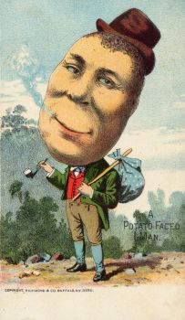 Victorian Advertising - Spud Man by Yesterdays-Paper