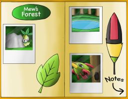 Geography Final: Mew's Forest by YingYang-girl