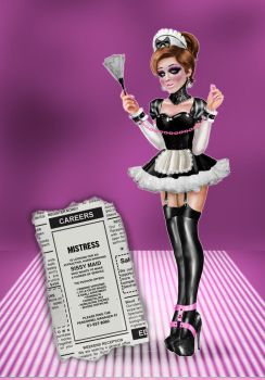 Chloe the Sissy Maid by Miss--Chloe