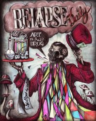 ART IS A DRUG... Relapse Daily by Cameron-Schuyler