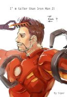 Iron Man New Hair by liuhagaren