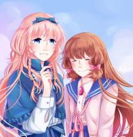 Harpae and MC - Pocket Mirror by melancholicluna