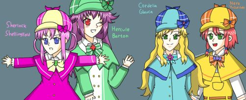 Tantei Opera Milky Holmes by alindicollection