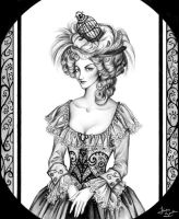 Marie Antoinette by Seitou