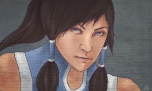 Avatar Korra by passionscketch