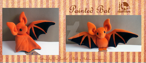 Painted Bat by Ishtar-Creations