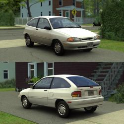 [Source] 1994-1996 Ford Aspire by RushFreak2