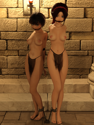 Slave girls by silenceyoursword