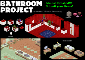 Bathroom Project Patch by furcpatchclub