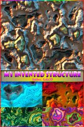 My invented structure from Gala3D by Gala3d