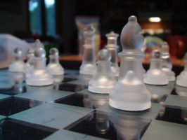 Chess Pieces by xcmer