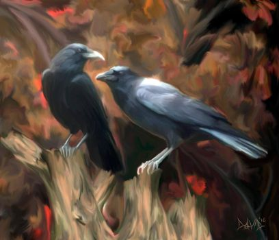 Ravens by OrestesGraphics