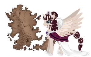 Queen Noble Mind + United Kingdom of Hestian by AinsworthMLP