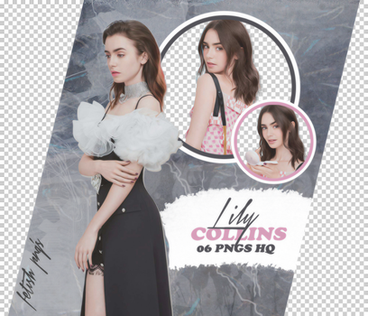 PACK PNG 98 // LILY COLLINS by fetishpngs