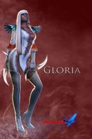 Long hair+two blades Gloria by fgomez