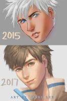 Throwback Thursday 2015 and 2017 by Lashialee