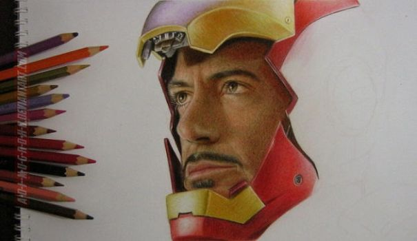 Tony Stark Work In Progress by im-sorry-thx-all-bye