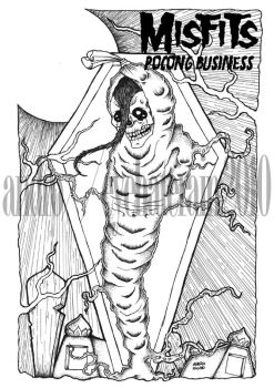 Pocong Business by eyehaterain