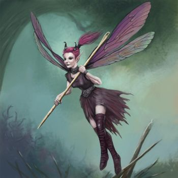 Bedeviled Pixie by Seraph777