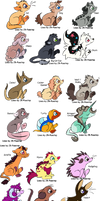 Chibi animals adopts! (12/27 OPEN) by Lost-adoptables