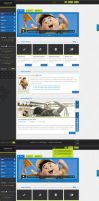 Creative 2 - PSD Template by sheko-elanteko