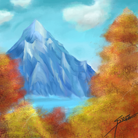 Speed Painting sept 20th, 2017 by Alektorotelumphobia