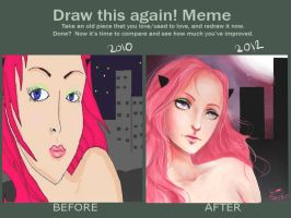 draw this again meme by kittysophie