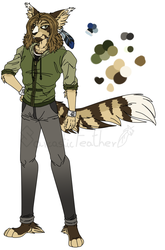 Fethery ''Feather'' McMeme - 2018 Redesign by SarcasticFeather