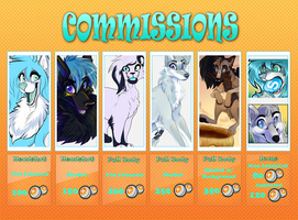 Point Commission Sheet 2013 by SnowyCakes