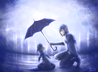 A Shelter From the Rain by Nekodox