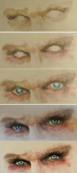 Step by step - Eyes of madness - Nux by A-Marry